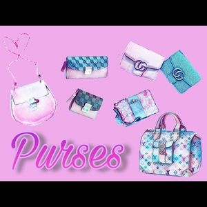 Purses, Wallets, Plus Much More!!!